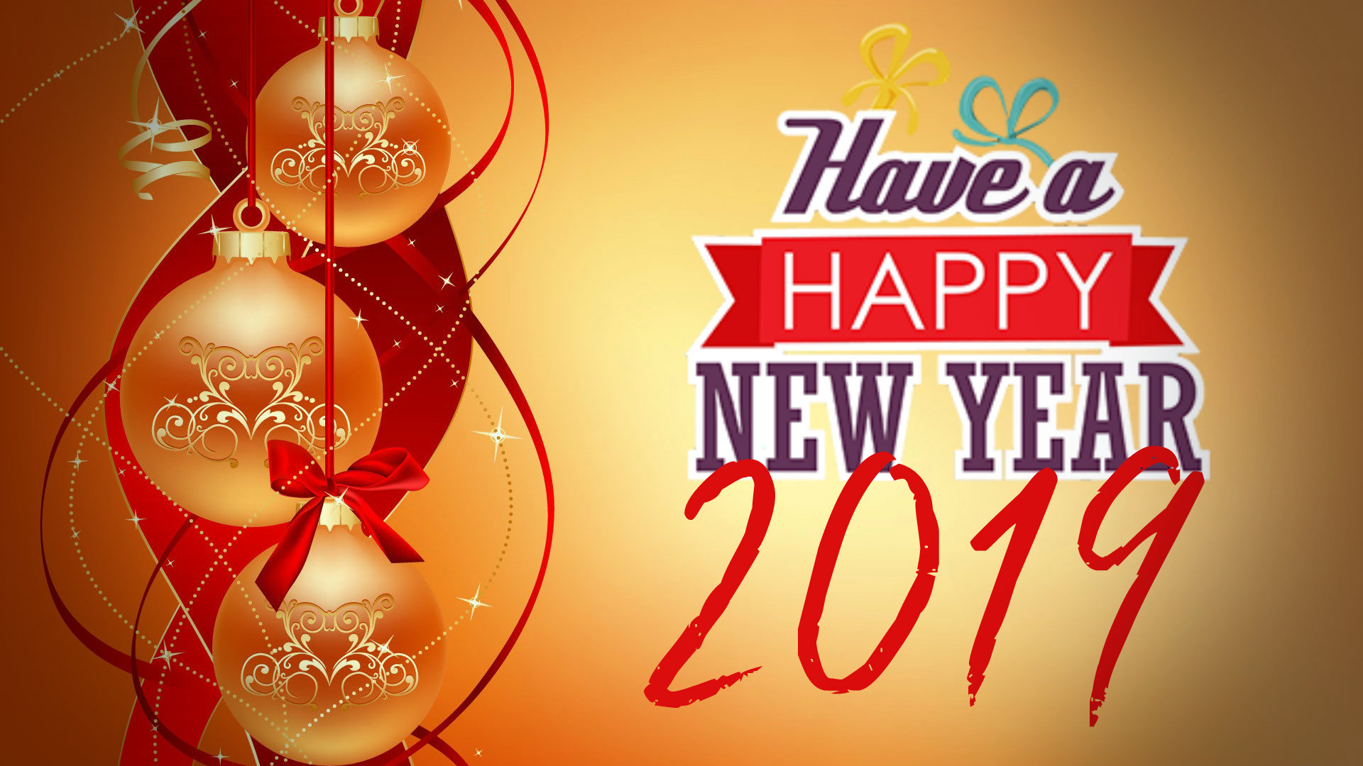 Happy New Year 2019 Wallpapers HD