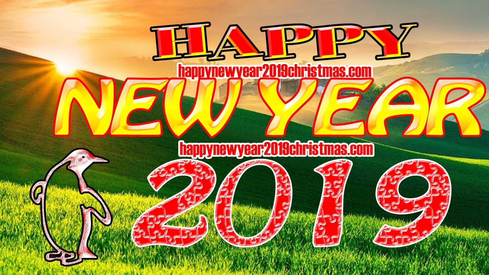 Happy New Year 2019 Wallpapers Images
