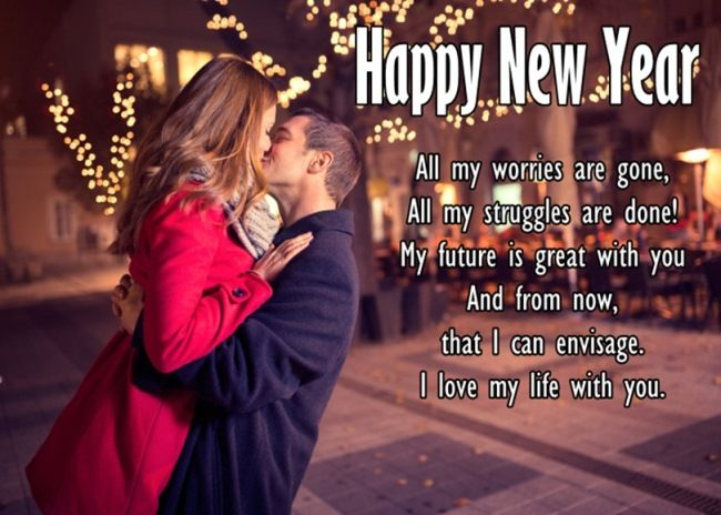 Happy New Year 2019 Wishes For Lover