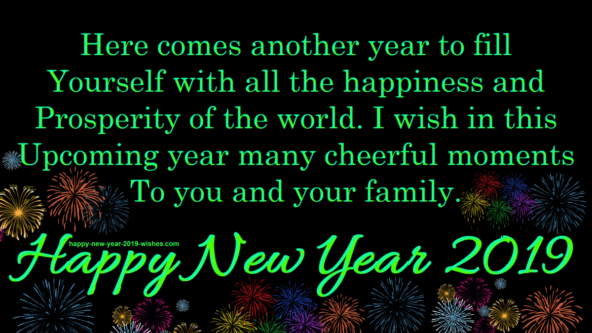 Happy New Year 2019 Wishes Images With Quotes
