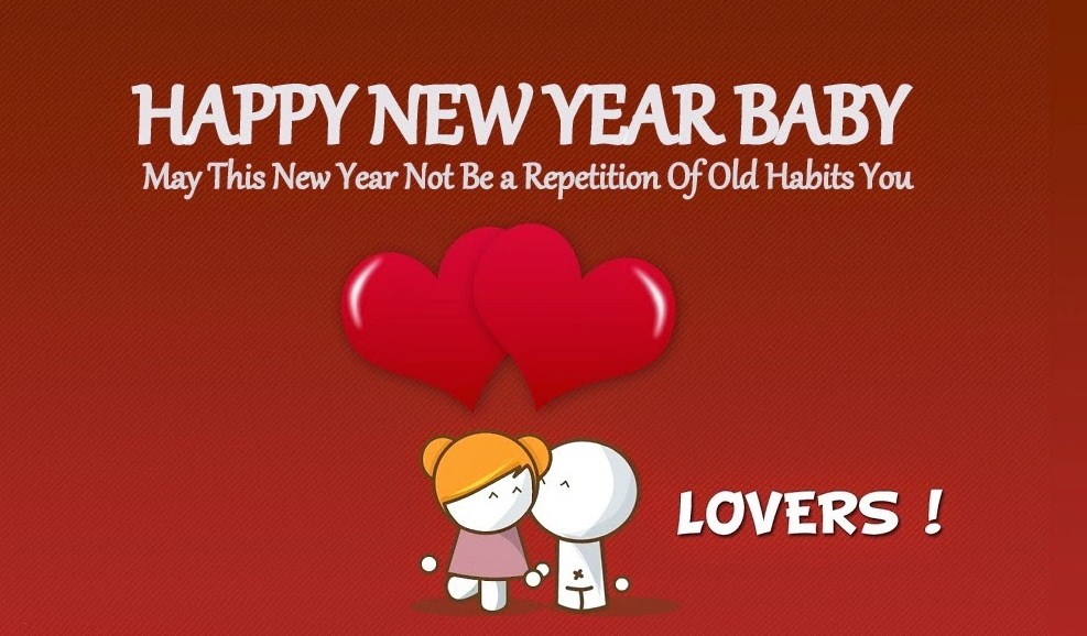 Happy New Year 2019 Wishes for Girlfriend