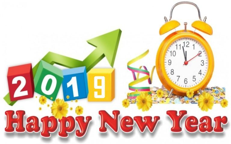 Happy New Year Clipart 2019