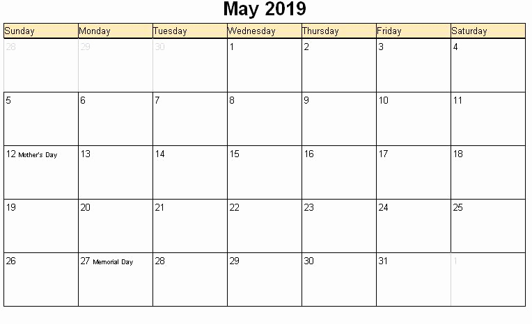 March 2019 Calendar with Holidays India