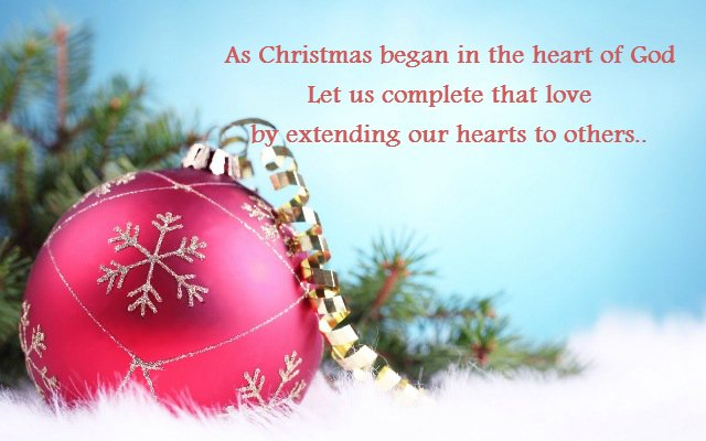 Merry Christmas Messages For Husband Wife