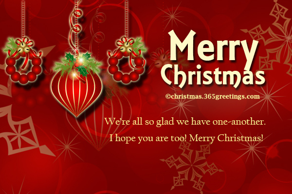 Merry Christmas Messages Images