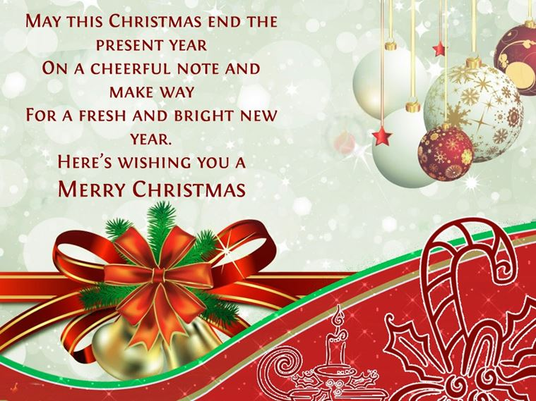 Messages For Merry Christmas 2018