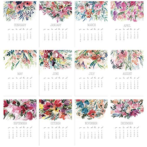 Beautiful 2019 Floral Calendar
