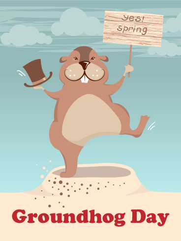 Groundhog Day Cards Funny