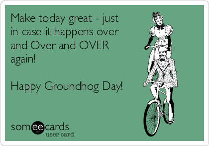 Groundhog Day Greetings Messages
