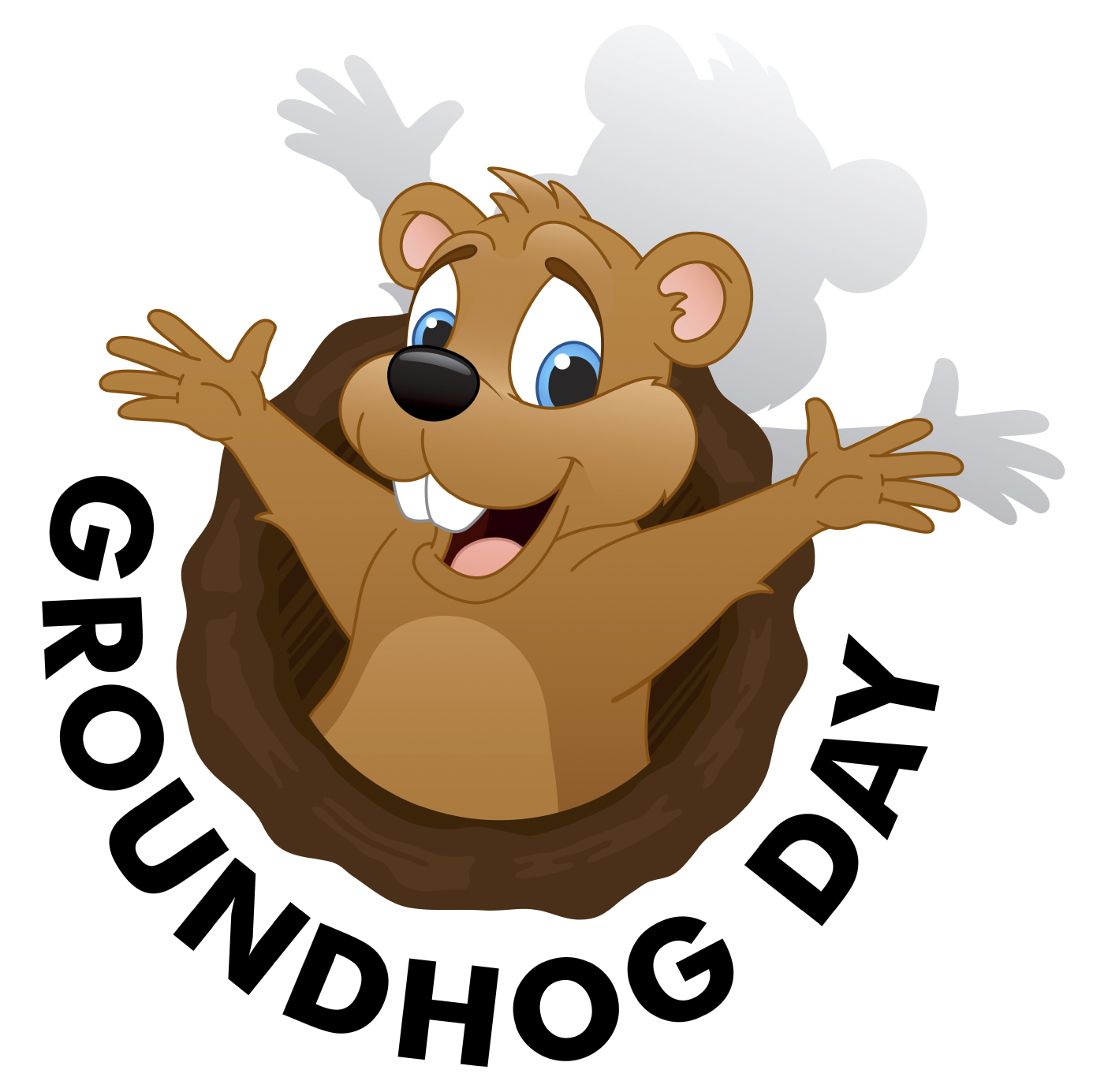 Groundhog Day Images Clipart