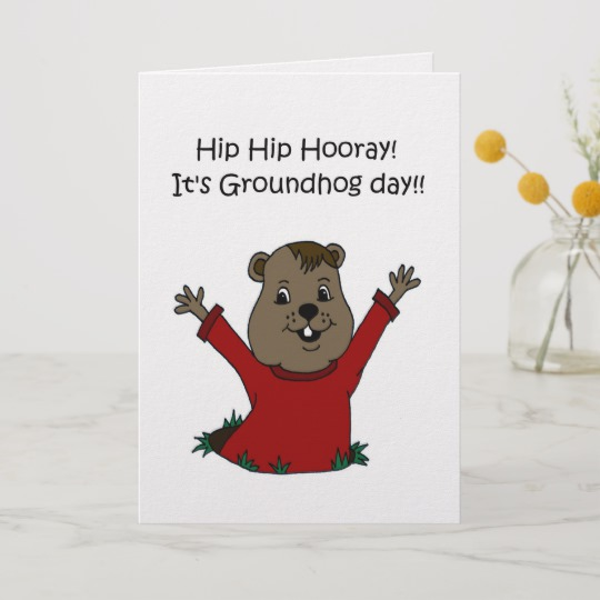 Groundhog Day Photo Cards