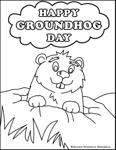 Groundhog Day Pictures to Print