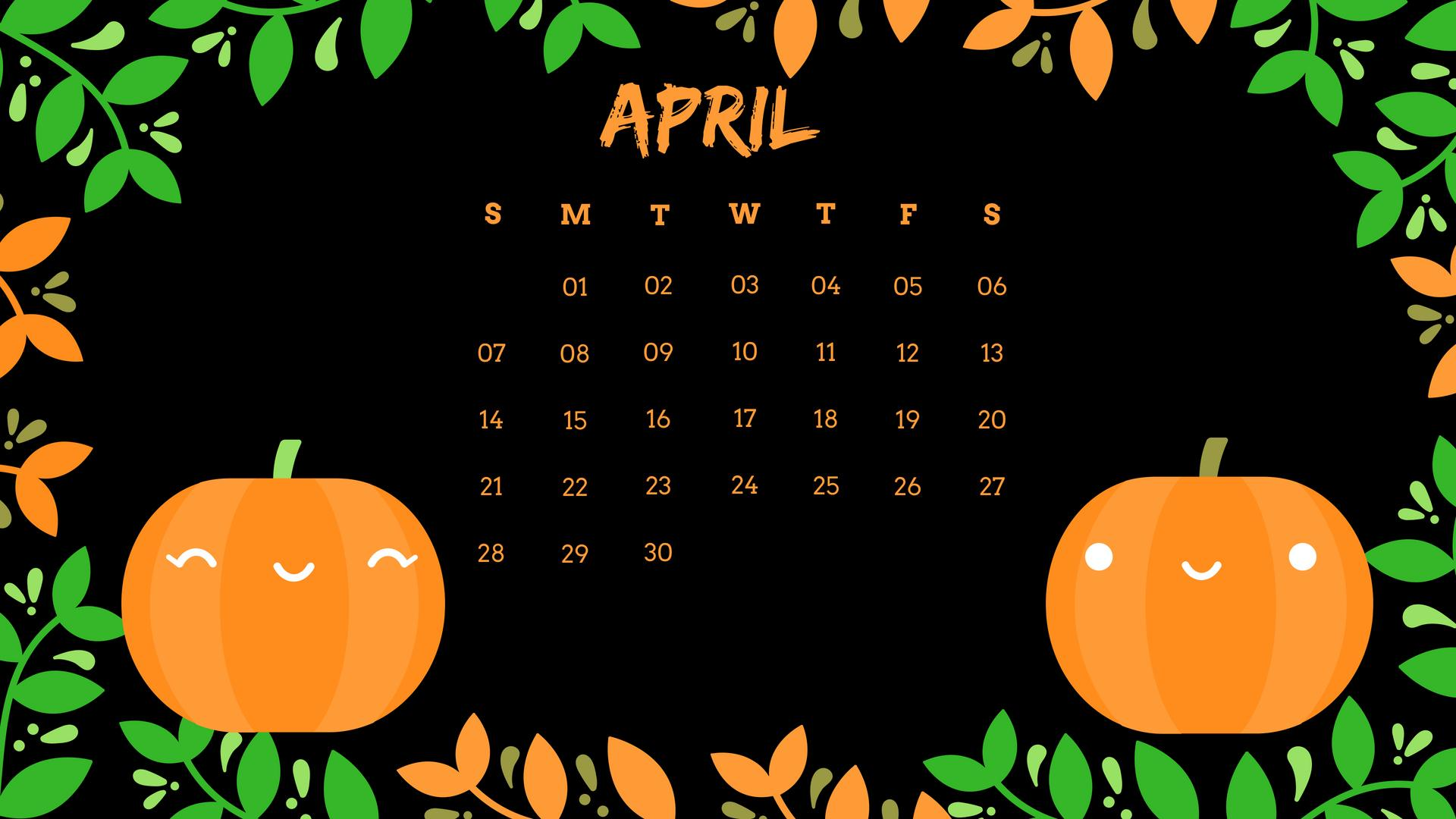 April 2019 Calendar Wallpapers