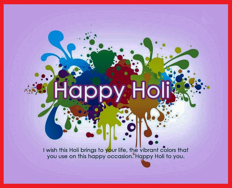 Best Holi Facebook Status Updates