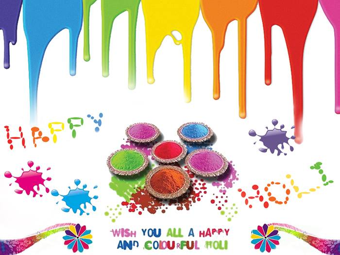 Happy Holi Instagram Status Image