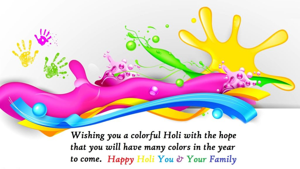 Holi 2019 Wishes With Pics