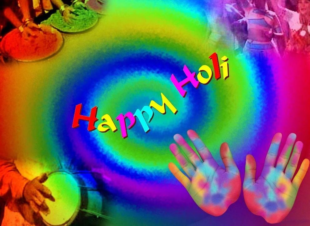 Holi Image for Facebook Post