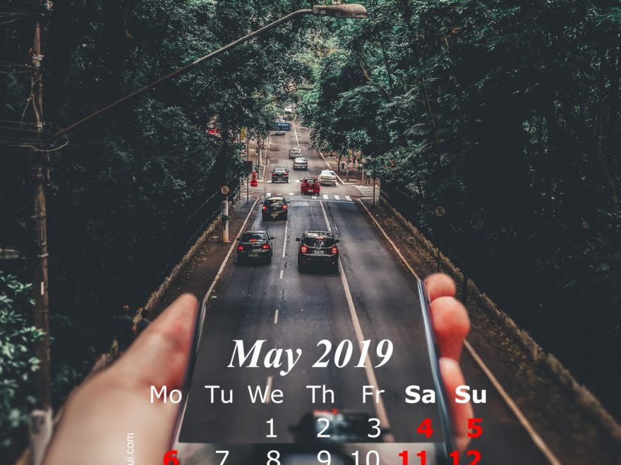 May 2019 Calendar iPhone Wallpaper HD