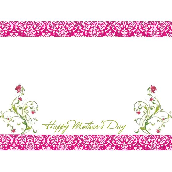 Free Mothers Day Border