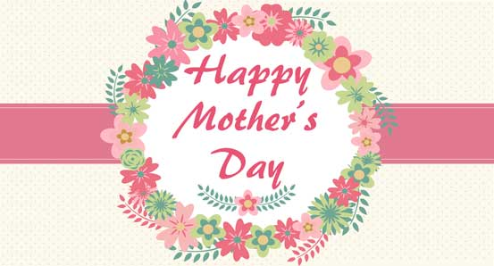 Happy Mothers Day Banner Clipart