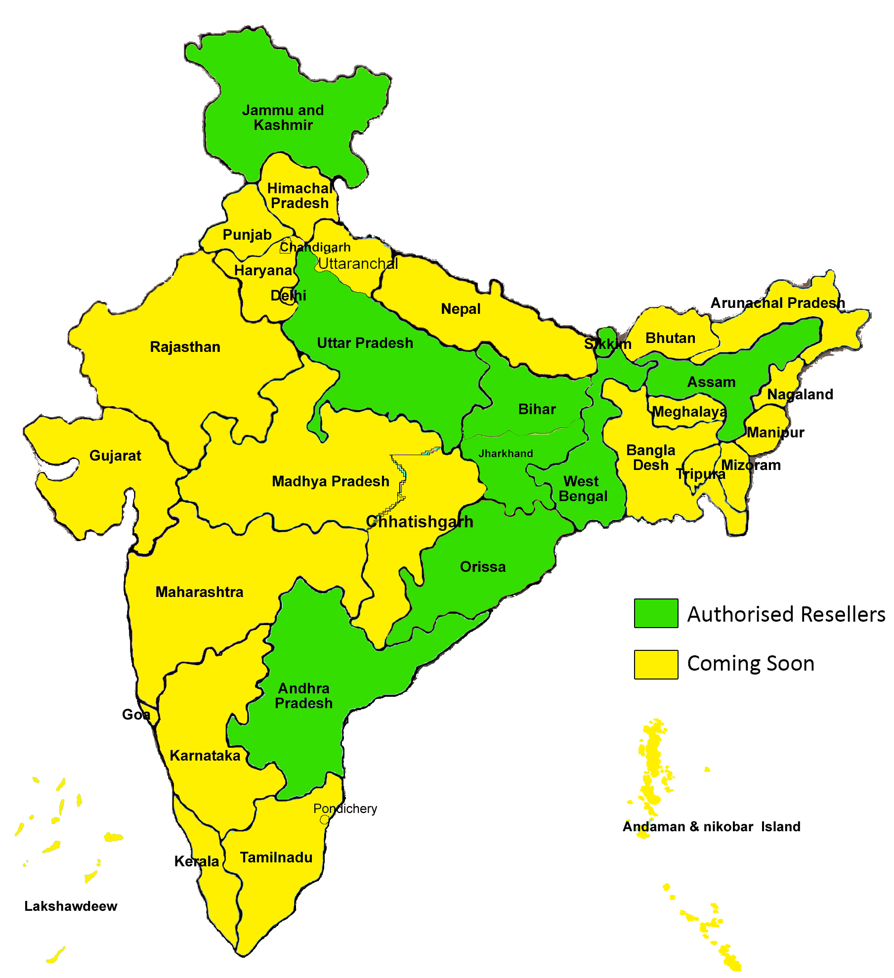India Map HD image
