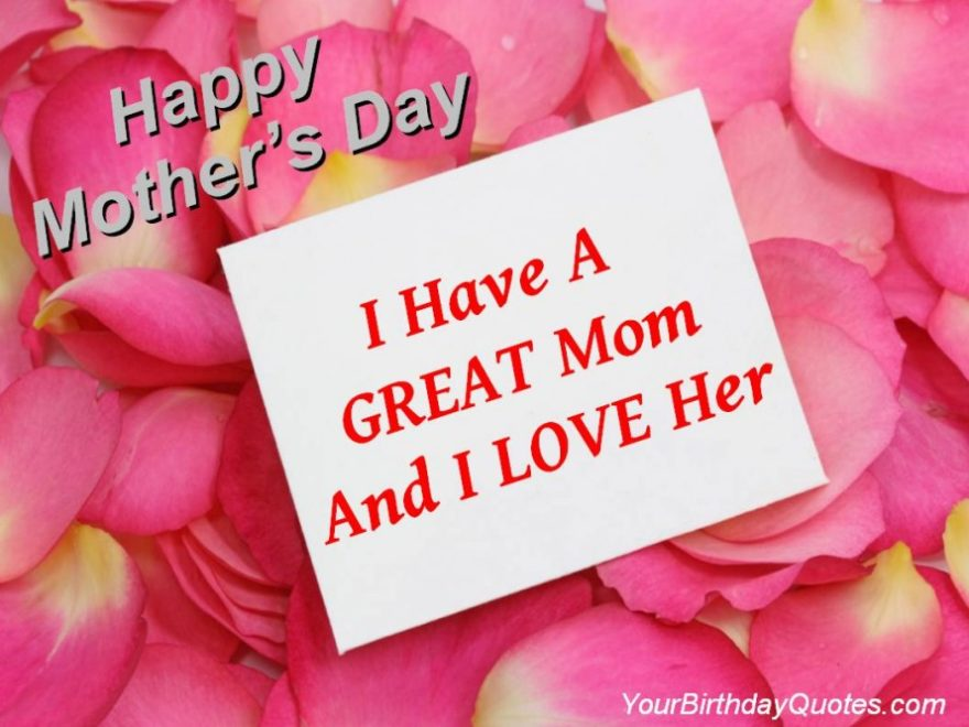 Mothers Day Love Poems