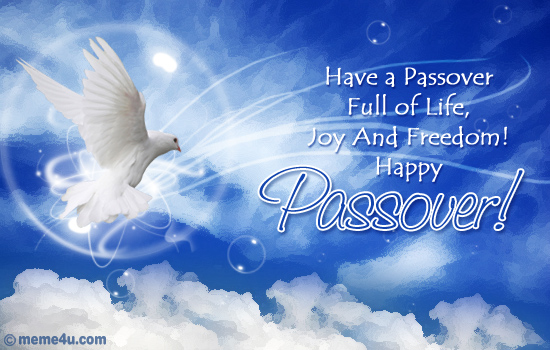 Passover Wishes for Friends