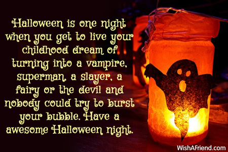 Halloween Messages Wishes