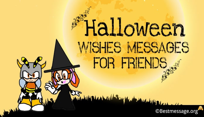 Halloween Wishes Messages Cards