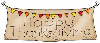 Happy Thanksgiving Images Banner Clipart