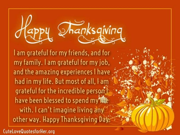 Happy Thanksgiving Quotes 2019