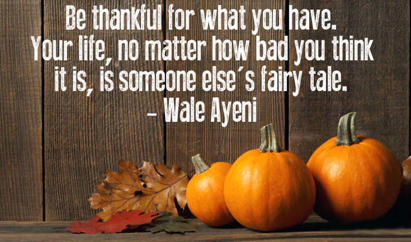 Happy Thanksgiving Quotes Messages