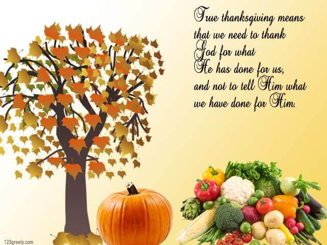 Inspirational Thanksgiving Quotes 2019