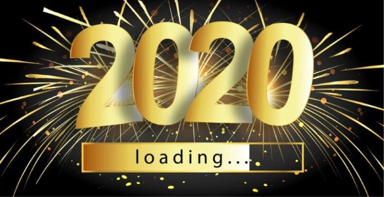 Happy New Year 2020 Wallpaper Background