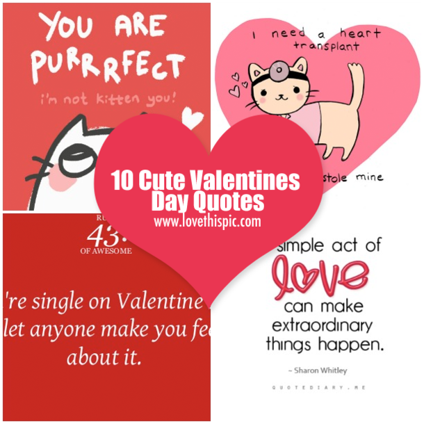 Happy Valentines Day Sayings Quotes