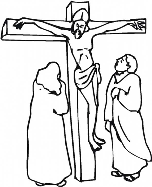 Christian Good Friday Coloring Pages