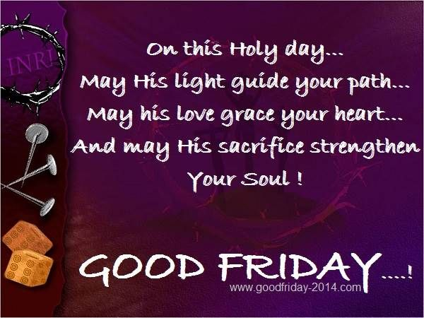 Download HD Images of Good Friday saying