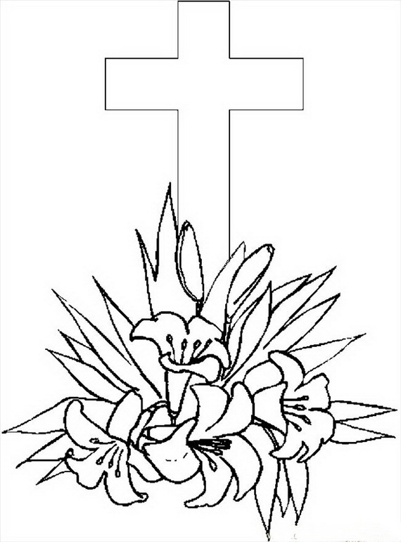 Good Friday Coloring Pages Printable For Kids