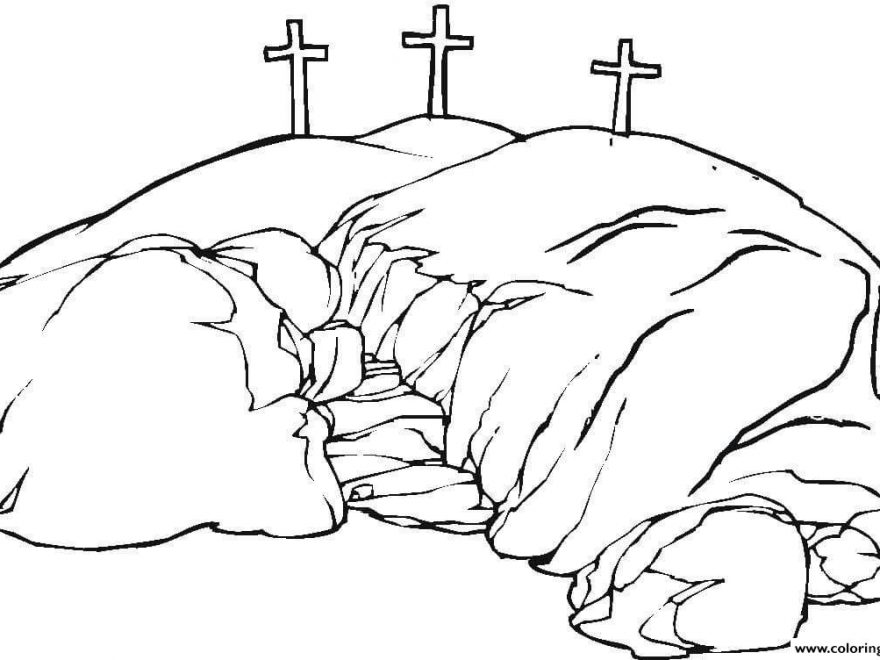 Good Friday Printable Coloring Pages