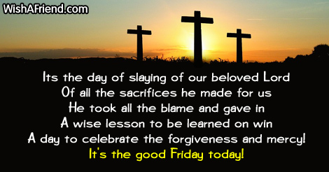 Happy Good Friday 2020 Messages