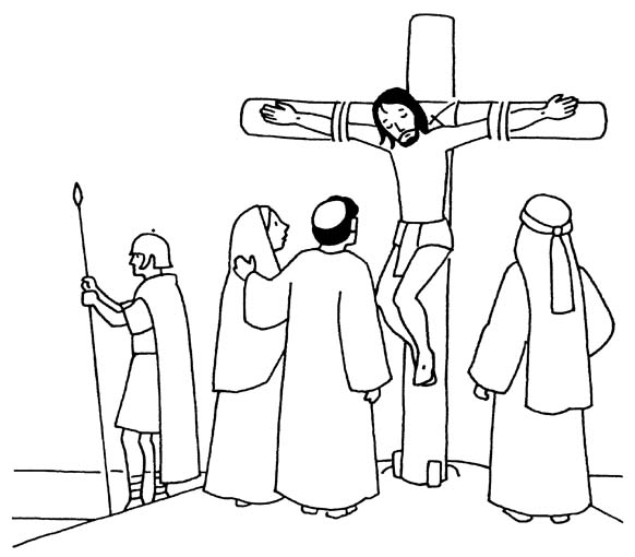 Printable Good Friday Coloring Pages