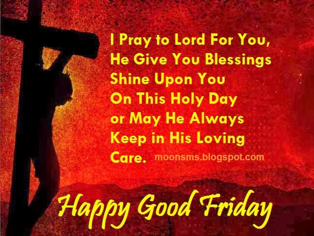 Religious Good Friday SMS