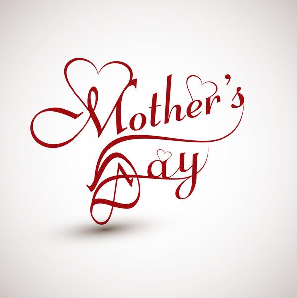 Beautiful Mothers Day Vector