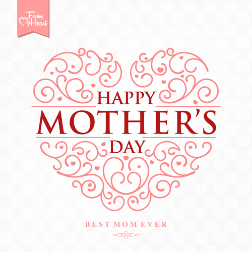 Mothers Day Vector Art Background