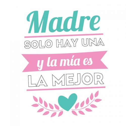 Mothers Day Vector Cute Design
