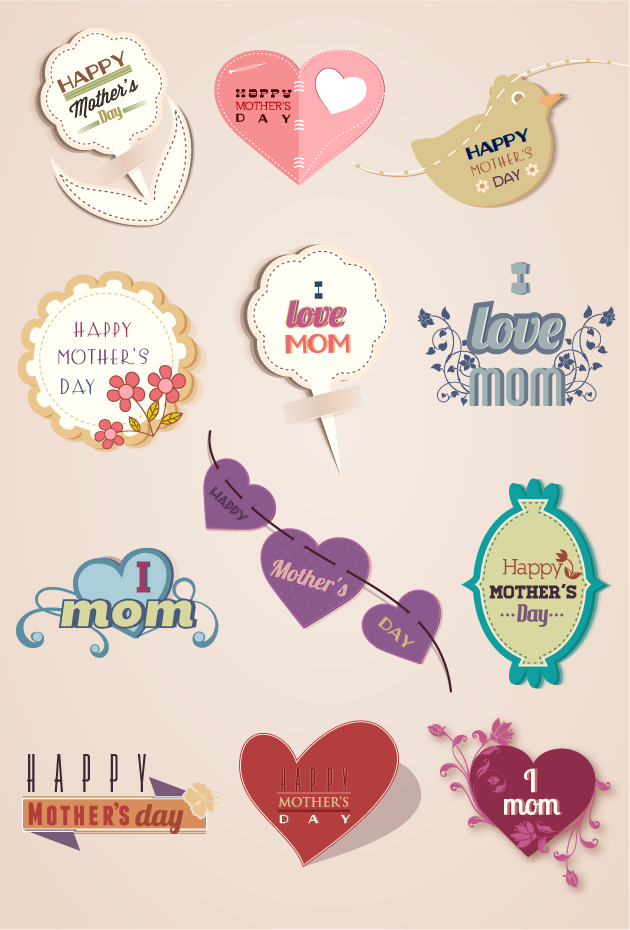 Mothers Day Vector Design