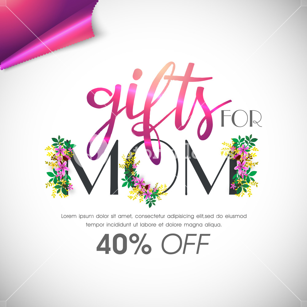 Mothers Day Vector Graphic Stock