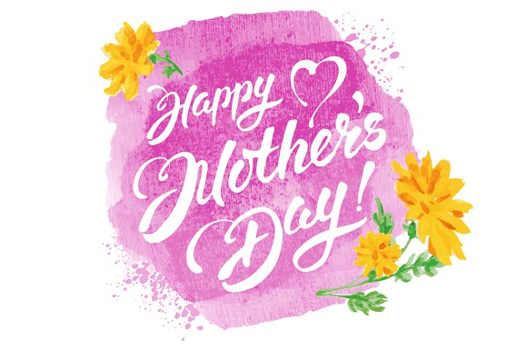 Mothers Day Vector for Facebook