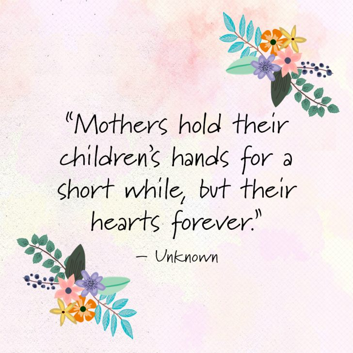 Short Mothers Day Quotes Image