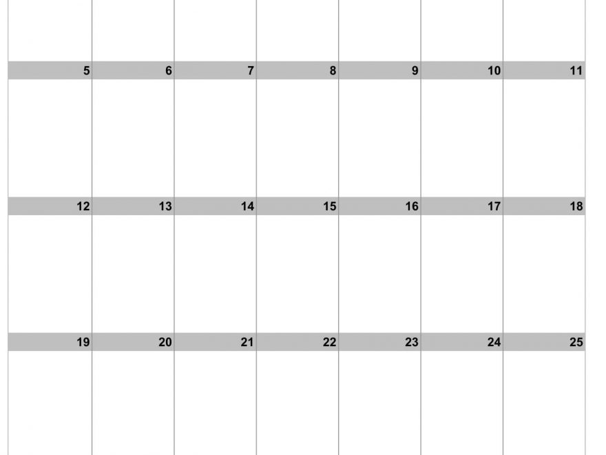 Monthly July 2020 Printable Calendar